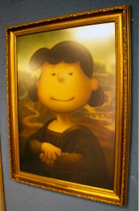 Lucy as Mona Lisa Painting