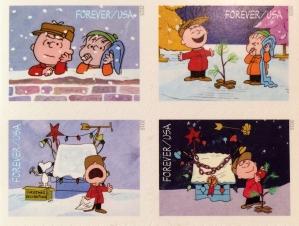 U.S. Postal Service Peanuts Commemorative Stamps