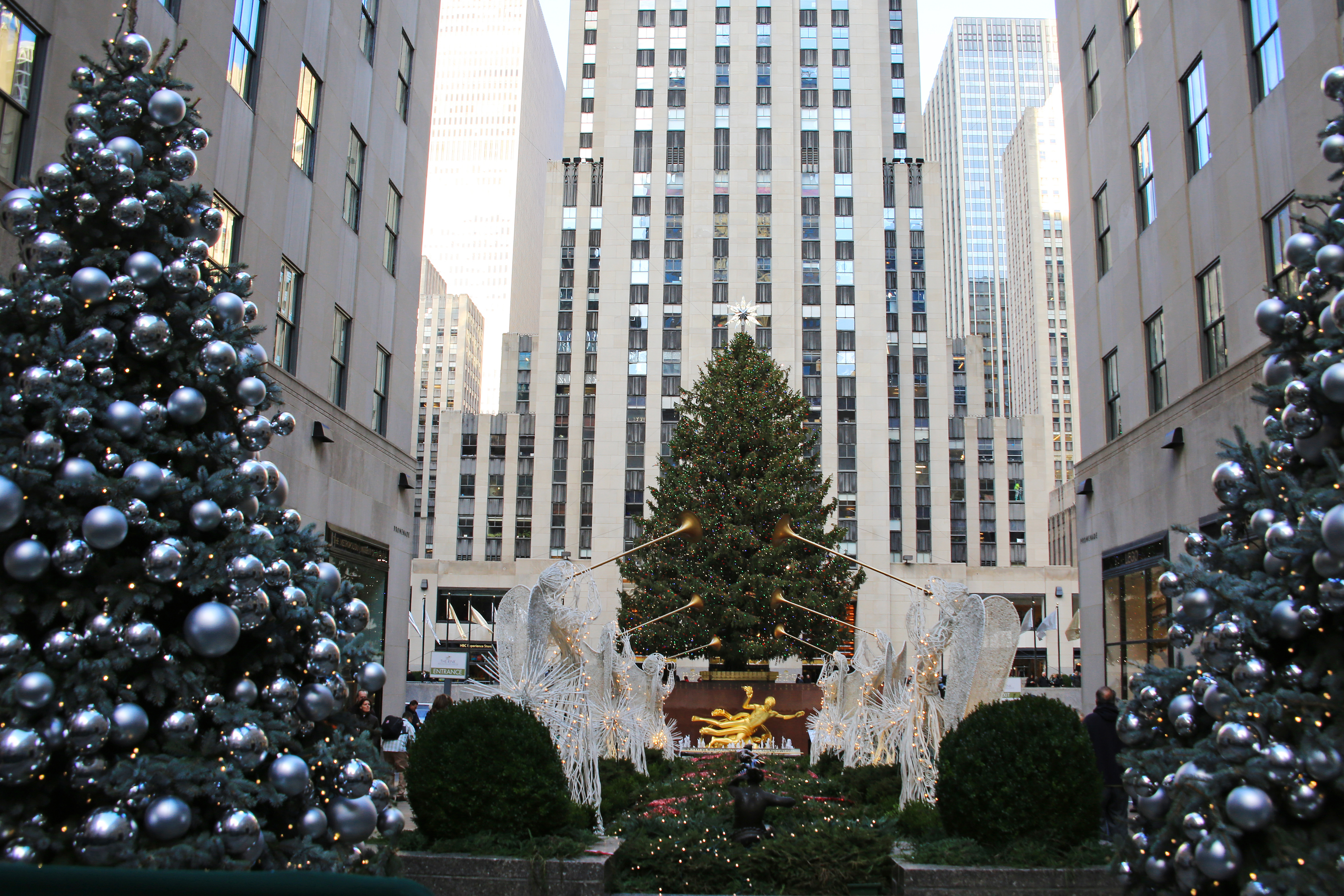 Rockefeller Center Christmas Tree And
