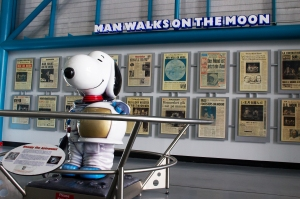 Snoopy at Kennedy Space Center
