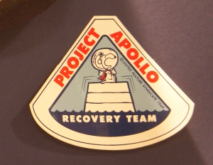 Snoopy Project Apollo Recovery Team Patch
