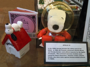 Snoopy as Safety Mascot for NASA