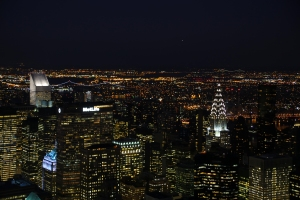 Looking North - Chrysler Building on Right