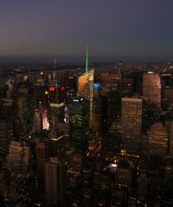 Looking North - Midtown Manhattan