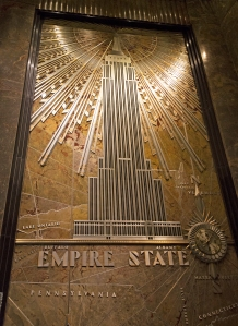 Empire State Building Mural