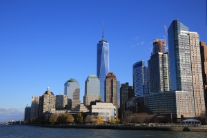 One World Trade Center in Skyline