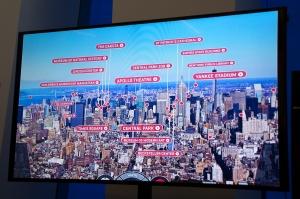 Sign Detailing Manhattan Landmarks