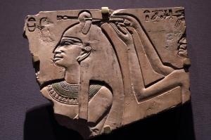 Queen Neferu Having Her Hair Done (2051-2025 BC)