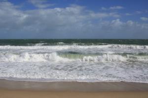 Sebastian Beach Ocean Waves