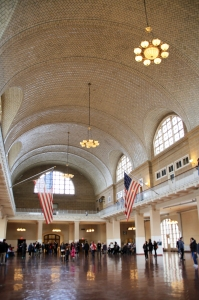 Inside Ellis Island Immigration Museum