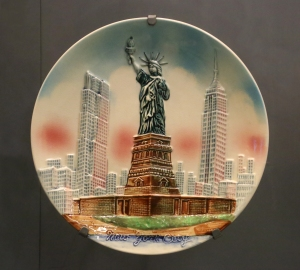 Statue of Liberty Themed Plate