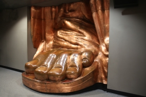 Full Scale Replica of Foot