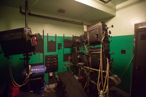 Theater Projectors / Original Editing Room where Cecil B. DeMille Viewed Daily Island Movie Shoots