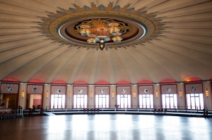 World's Largest Circular Ballroom (can hold over 6,000 people and has no support beams)