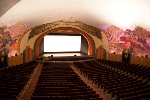 Art Deco Avalon Theater (seats 1,154 people)