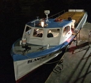 Historic Catalina Flying Fish Tour Boat Blanche W