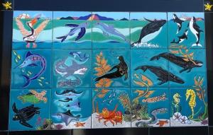 Catalina Sea Life Tile Mural