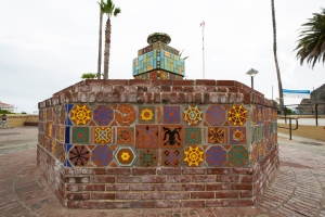 Historic Catalina Tile Fountain