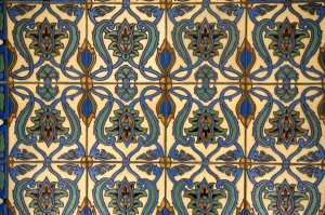 Beautiful Catalina Tile on Memorial Walls