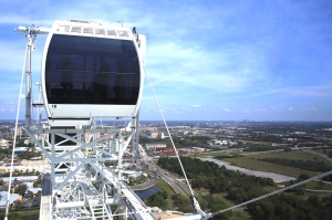 View at Top of Wheel