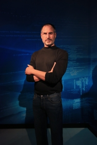 Steve Jobs Figure at Madame Tussauds Wax Museum