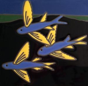 Flying Fish Tile