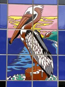 Pelican at Sunset Tile