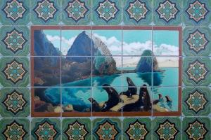 Sea Lions Tile