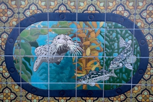 Seal in Kelp Forest Tile
