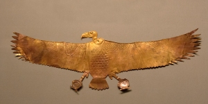 Gold Egyptian Vulture Jewelry