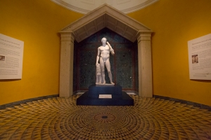 Centerpiece of Collection:  Temple of Herakles Room