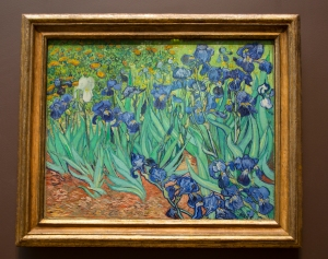 Van Gogh's Irises Sold for $53.9 million in 1987