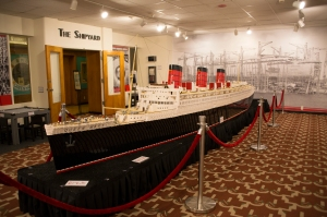 Shipyard Room:  World's Longest LEGO Model Ship