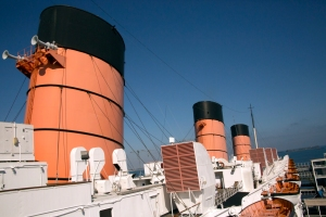 Queen Mary's Triple Stacks