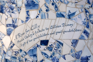 """A Rose for Lilly"" Commissioned by Mrs. Disney's Children and Grandchildren"