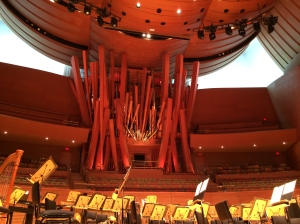 "Concert Hall's Massive Pipe Organ (nicknamed ""Hurricane Mama"")"