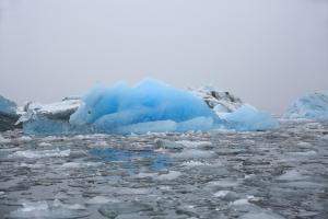 Stunning Blue Ice