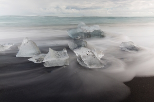 Long Exposure of Ice #1