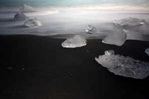 Long Exposure of Ice #4