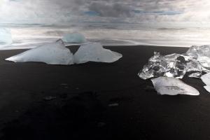 Long Exposure of Ice #3