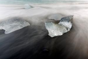 Long Exposure of Ice #2