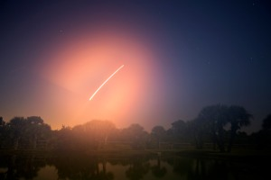 Rocket Launch After Midnight