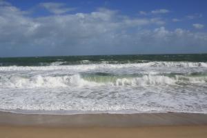 Waves at Sebastian Beach