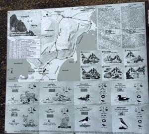 Descriptive Map of Vestrahorn and Stokksnes Area
