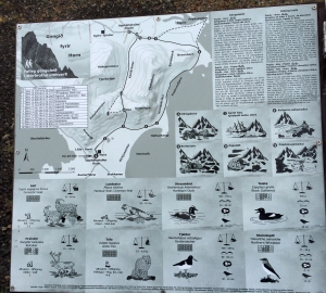 Descriptive Map of Vestrahorn and Stokksnes Area