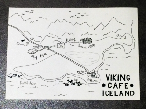 Viking Cafe Map of Area