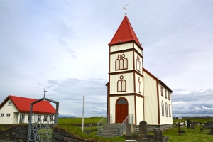Kalfatjarnarkirkja is Iceland's largest rural church (built 1891)