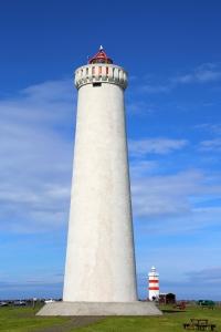 Twin Gardskagaviti Lighthouses