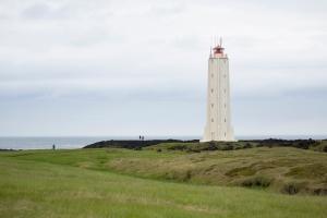 Longrangar Lighthouse on Coast
