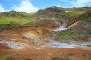 Seltun Volcanic Area Trail